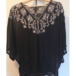 Forever 21 top- embroidery